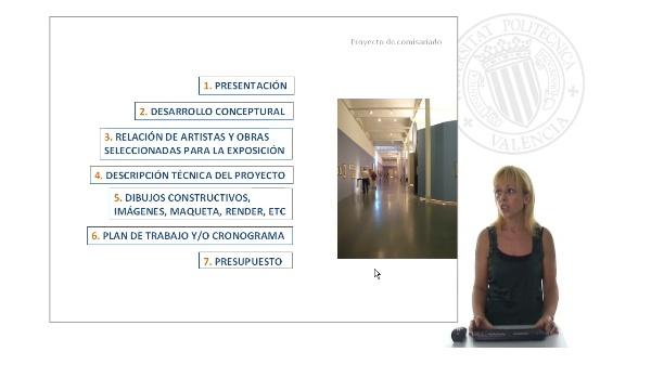 Proyecto de comisariado de exposiciones