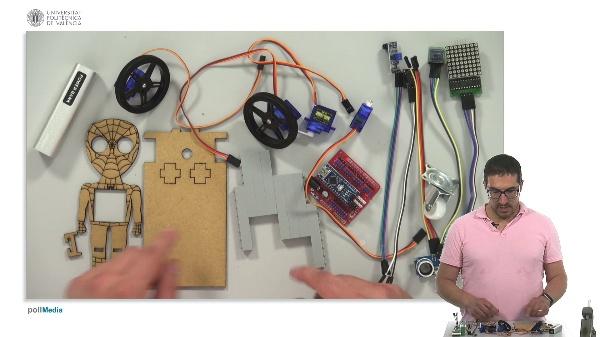 Ensamblajes DYOR. Robot DYOR SpiderBot