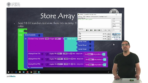 Programming Example: Store Array Data