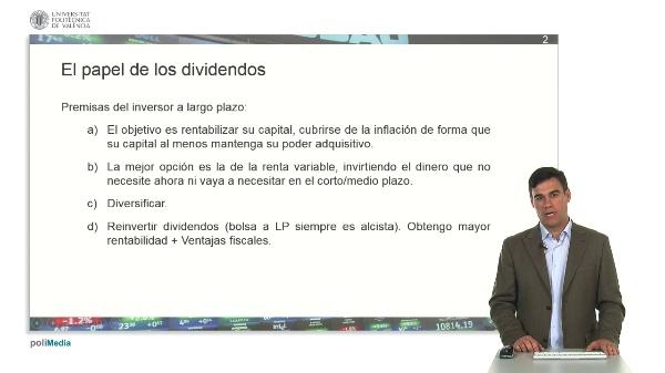 El papel de los dividendos