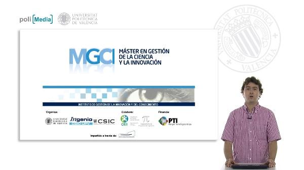 Presentación Coordinación Máster en Gestión de la Ciencia y la Innovación