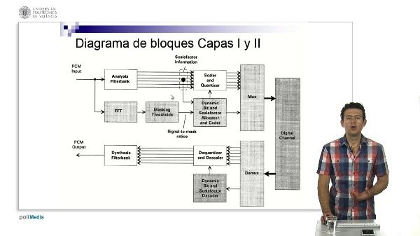 MPEG-1 Capas I y II: Banco de Filtros