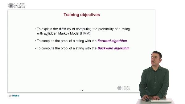 Forward and Backward algorithms