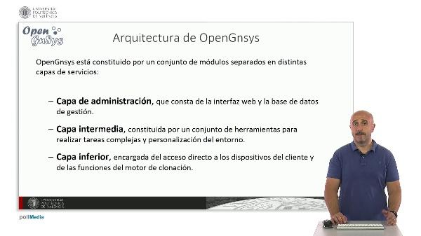 Arquitectura de OpenGnsys