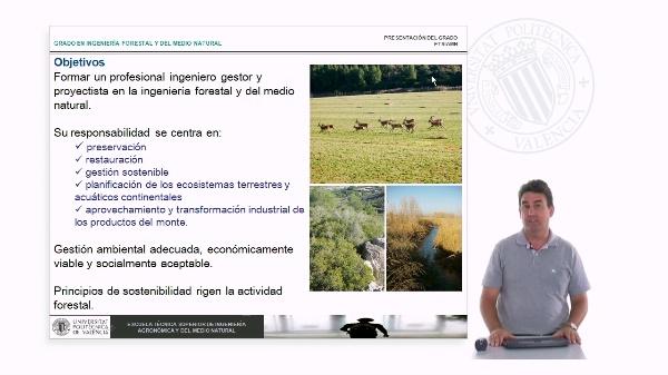 Grado en Ingeniería Forestal y del Medio natura