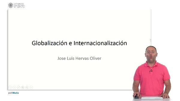 Globalización e internacionalización