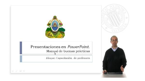 Preparación de una presentación Power Point. Buenas prácticas.