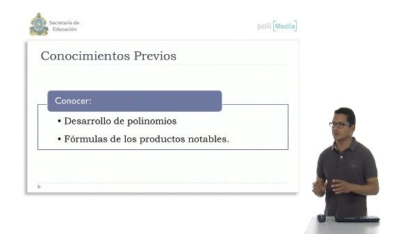 Aplicación de las fórmuloas de los Productos Notables