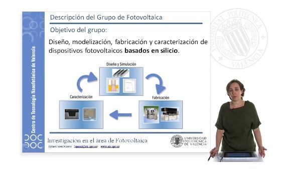 Descripción del grupo de fotovoltaica