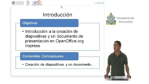 Creación de diapositivas en OpenOffcie.org Impress