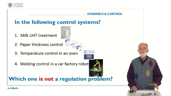 Propierties of Controlled Systems. Answer 1