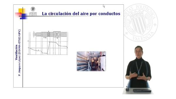 El flujo de aire por conductos en las instalaciones de ventilación