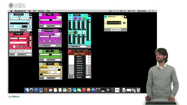 Modulos Basics: picth, transposer, panoramic, delay, filter