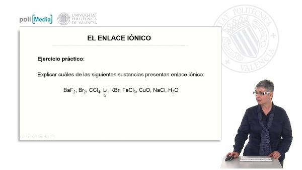 El enlace iónico (ejercicio práctico