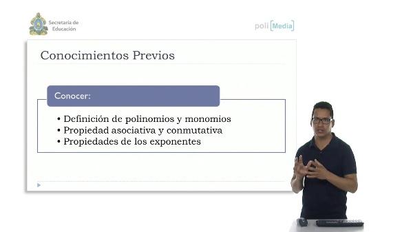 Multiplicación y División de un Polinomio entre un Monomio