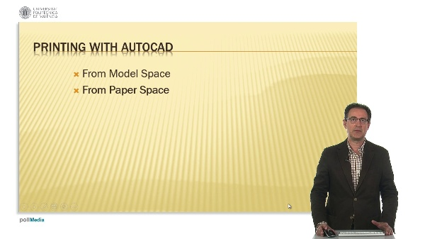 Printing with Paper space in AutoCAD