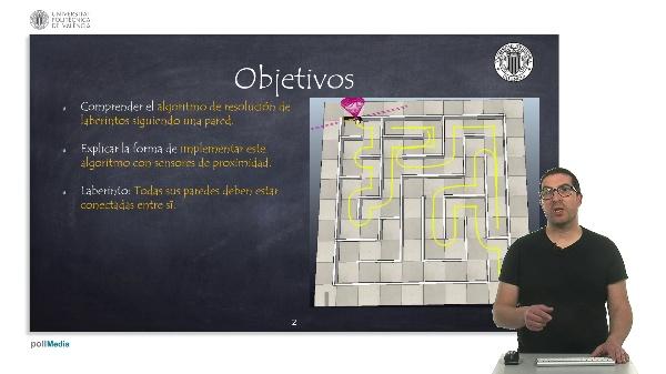 Robótica móvil: Resolución de laberintos siguiendo la pared de un lado