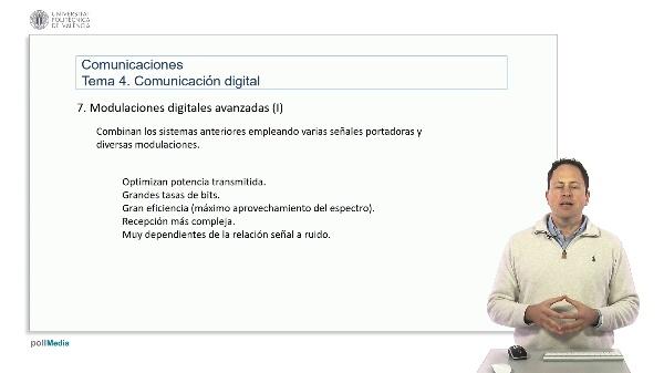 Introducción a las radiocomunicaciones. Modulaciones digitales avanzadas