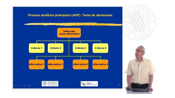 AHP aplicado a la valoración ambiental