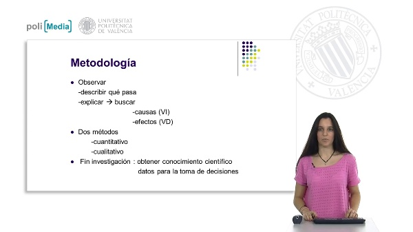 Investigación social. Metodología