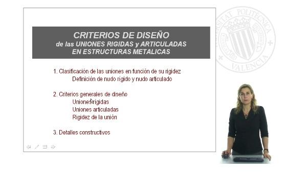 Criterios de diseño de las uniones en estructuras de acero para edificación