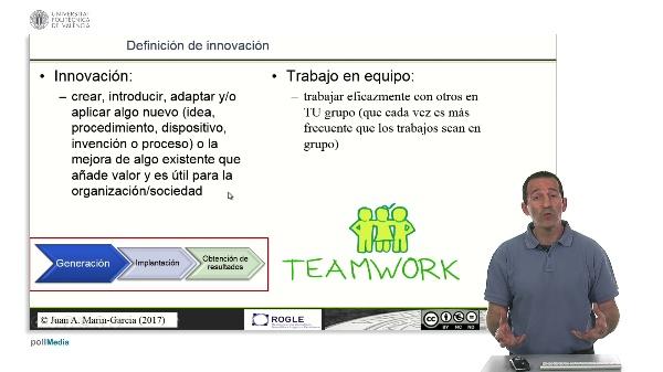 La competencia de Trabajo en Equipo y su relación con la innovación.