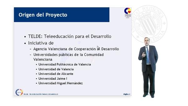 TELDE.Tele-educación para el Desarrollo.Prueba Piloto en Uruguay