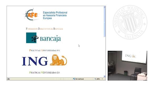 Sesión inaugural Asesoría Financiera Europea Curso 2009-10 PARTE 1