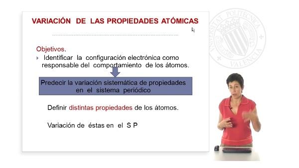 Variación de las propiedades atómicas