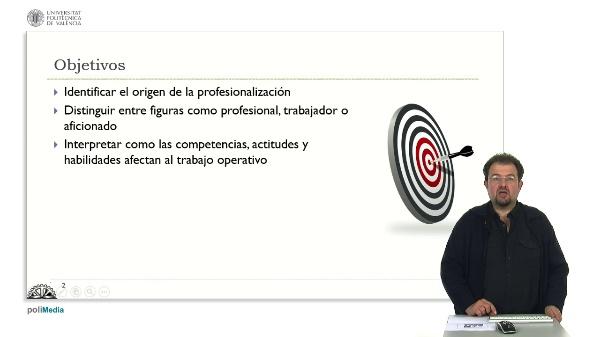 Profesionalismo, profesional, profesión. Una introducción