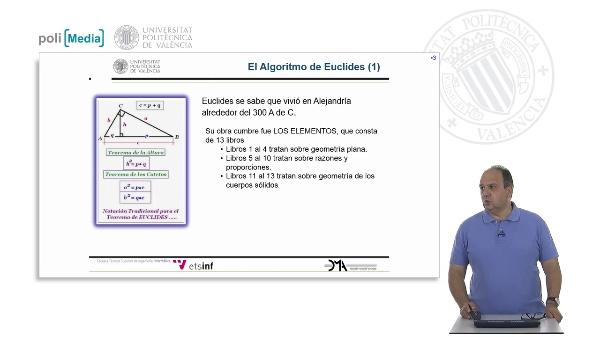 El Algoritomo de Euclides (1)