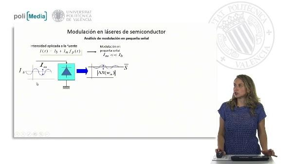Modulación en láseres de semiconductor