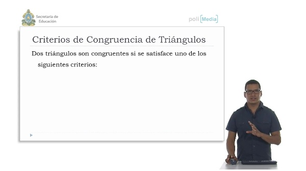 Criterios de congruencia de triángulos