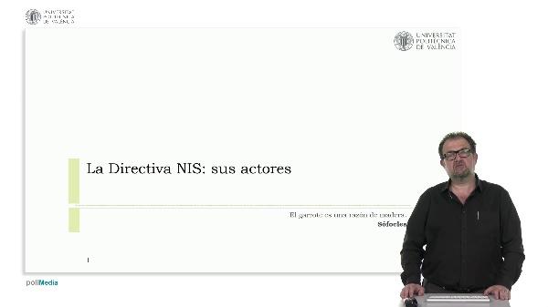 La directiva NIS: sus actores