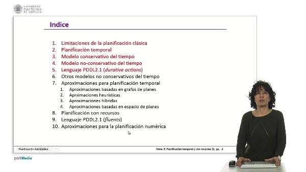Planificación temporal y con recursos (I)