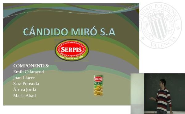 Cándido Miró SA. Serpis