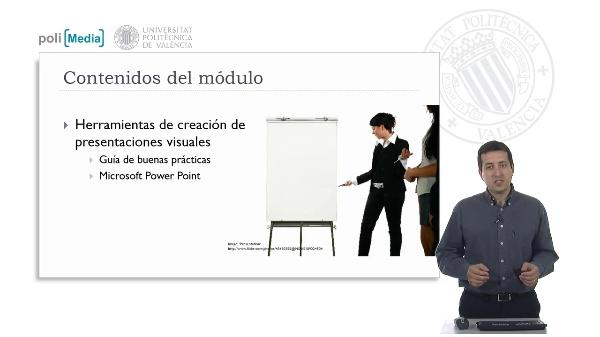 Creación de presentaciones visuales