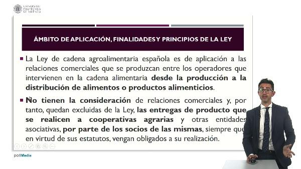 APROXIMACIÓN A LA LEY DE CADENA ALIMENTARIA 2