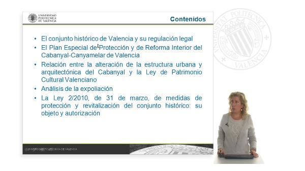 Las medidas de protección y revitalización del conjunto histórico de la ciudad de Valencia