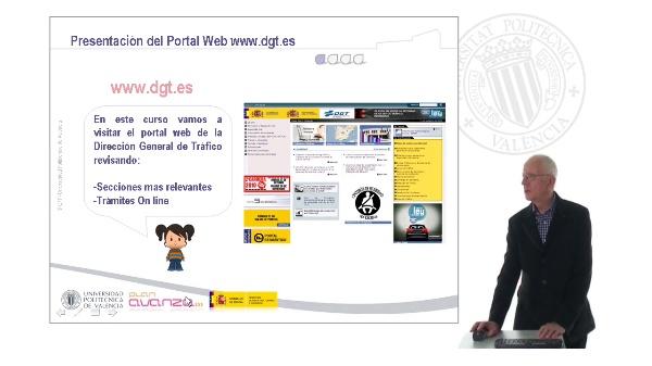 La Dirección General de Tráfico en Internet