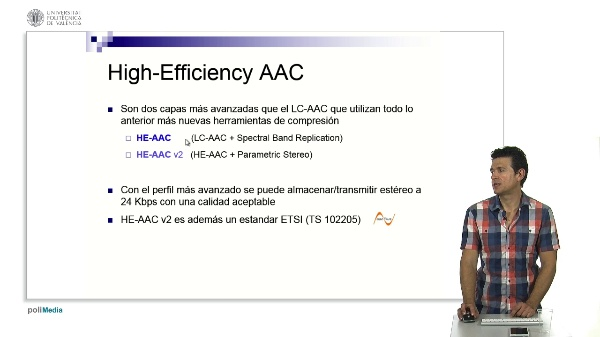High-Efficency Advanced Audio Coding
