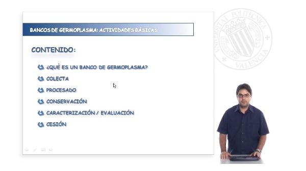 Actividades básicas de los bancos de germoplasma