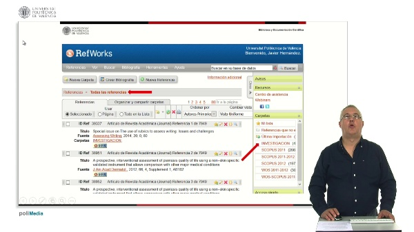 Como exportar mis referencias de Refworks a Mendeley