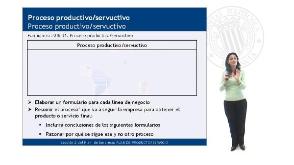 Proceso productivo/servuctivo