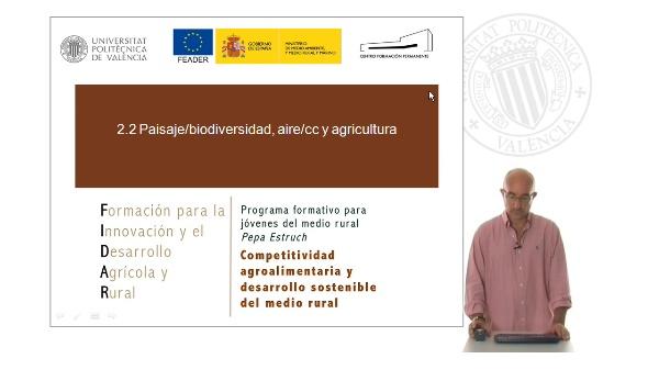 Agricultura biodiversidad y cambio climático