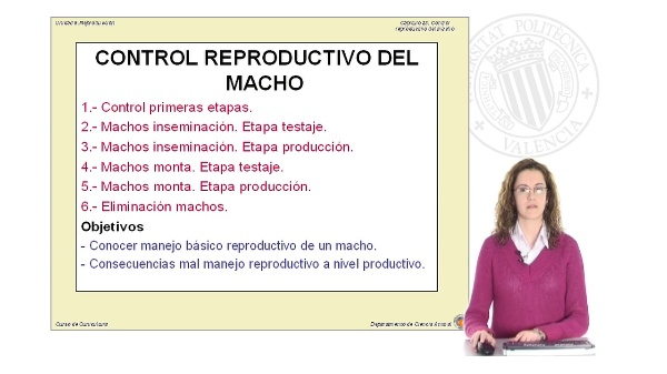 Control reproductivo del macho
