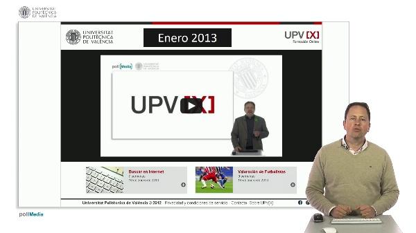 SPOC Gestión de MOOC. La iniciativa MOOC de la UPV