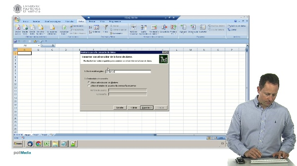 Excel, importar datos de servidor corporativo (SQL Server)