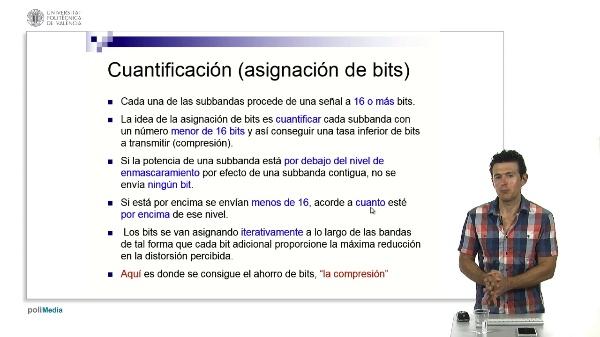 MPEG-1 Capas I y II: Cuantificación
