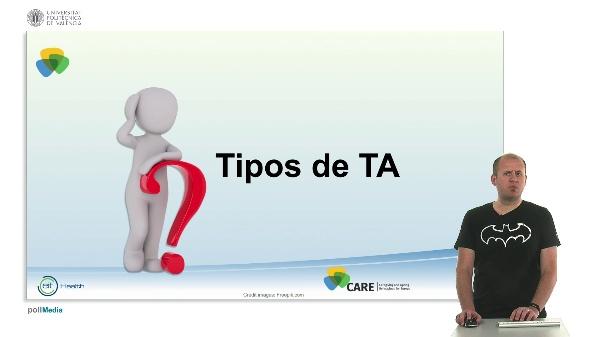 Tipos de tecnología asistencial (lección 02_01_02)